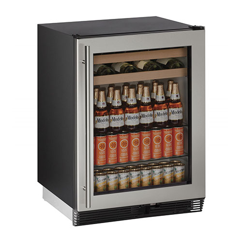 24  Stainless Steel Wine & Beverage Center
