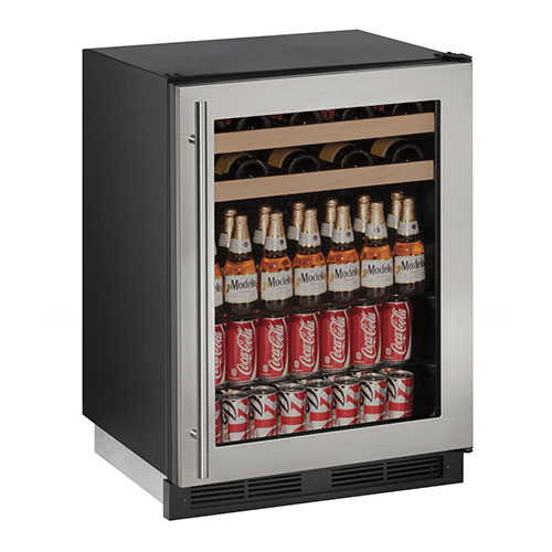 1000 Series Stainless Steel Wine & Beverage Center