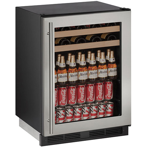 1000 Series Stainless Steel Wine & Beverage Center with Locking Door