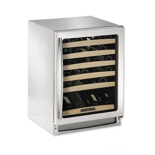 U-line Echelon Series 48 Bottle Wine Cooler - Stainless Steel