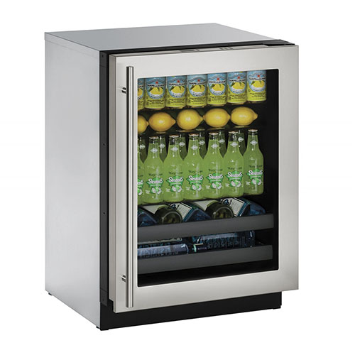 3000 Series Stainless Steel Wine & Beverage Center- Left Hinge