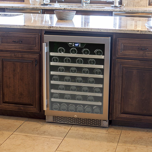 Avallon 54 Bottle Built-In Wine Cooler