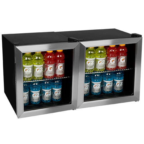 EdgeStar 124-Can Extreme Cool Side-by-Side Beverage Cooler