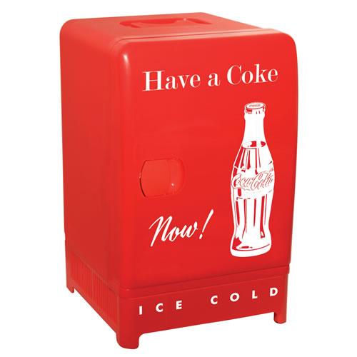 Koolatron 12L Coca-Cola Retro Refrigerator