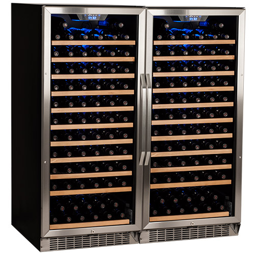 EdgeStar 242 Bottle Built-In Side-by-Side Wine Cellar