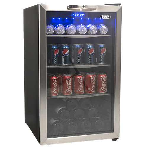 Danby 124 Can Beverage Refrigerator