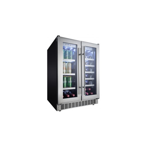 danby dual zone builtin beverage center