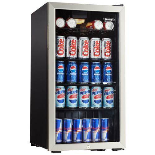 Danby 120 Can Beverage Cooler w/ Lock