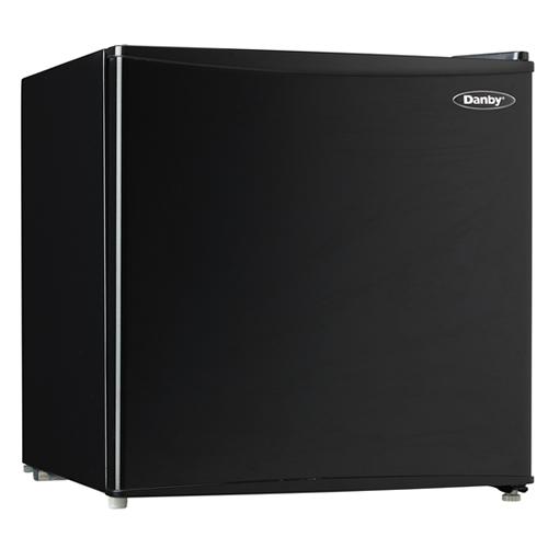 Danby Energy Star 1.6 Cu. Ft. Compact Refrigerator/Freezer - Black
