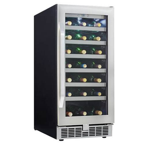 Danby Silhouette Professional 28-Bottle Built-In Wine Cooler