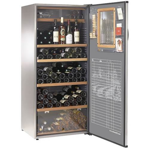 Climadiff Theatrical Multi-Temperature 203 Bottle Wine Cabinet