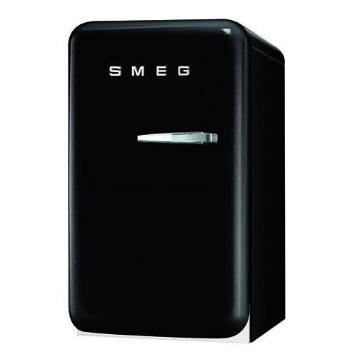 Smeg 1.5 Cu. Ft. Retro Refrigerator - Black