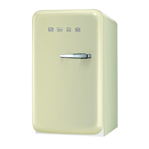 Smeg 1.5 Cu. Ft. Retro Refrigerator - Cream