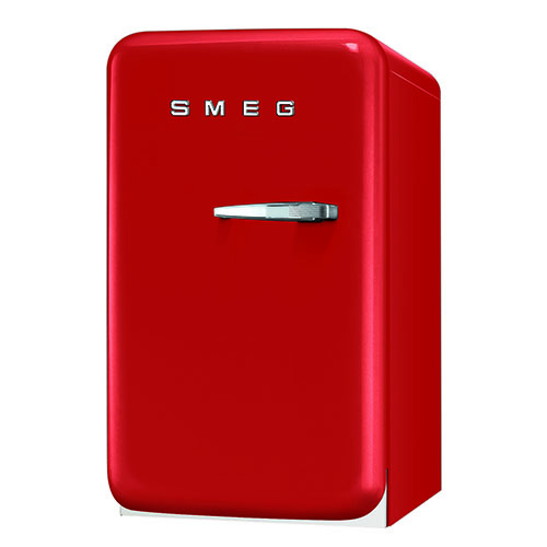 Smeg 1.5 Cu. Ft. Retro Refrigerator - Red
