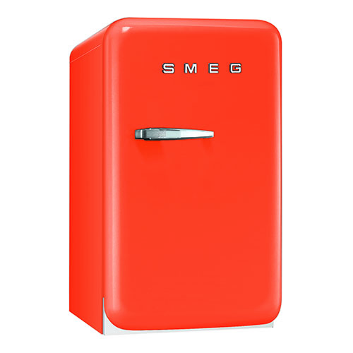 Smeg 1.5 Cu. Ft. Retro Refrigerator - Orange
