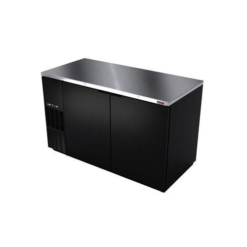 Fagor 59 Inch Dual Temp Back Bar Cooler