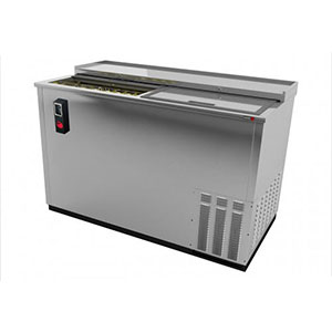 Fagor 50 Inch Stainless Steel Deep Wall Horizontal Bottle Cooler