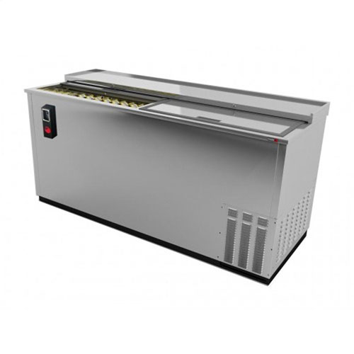 Fagor 65 Inch Stainless Steel Deep Wall Horizontal Bottle Cooler