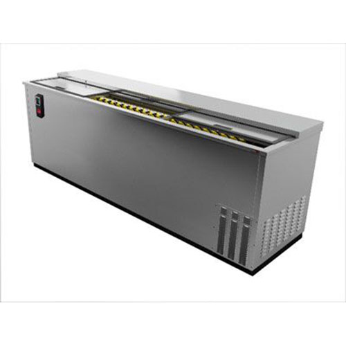Fagor 79 Inch Stainless Steel Deep Wall Horizontal Bottle Cooler