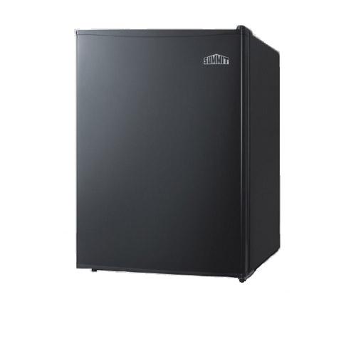 Summit 2.4 Cu. Ft. Black Compact Refrigerator