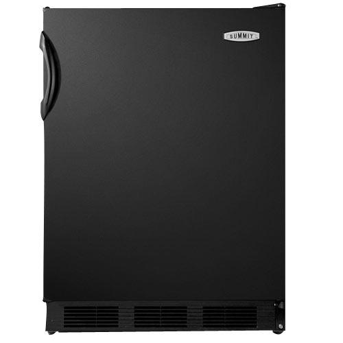 Summit 5.5 Cu. Ft. Freestanding Refrigerator-Black