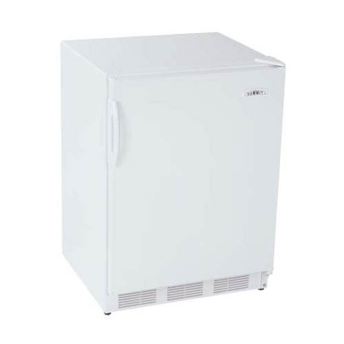 Summit 5.5 Cu. Ft. Commercial All Refrigerator - White, Auto Defrost