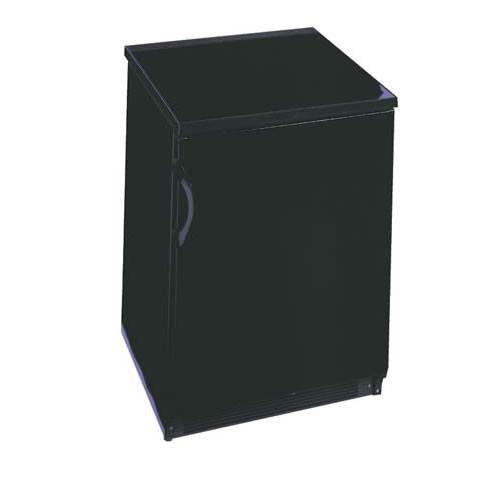 Summit 5.5 Cu. Ft. Commercial All Refrigerator - Black, Auto Defrost