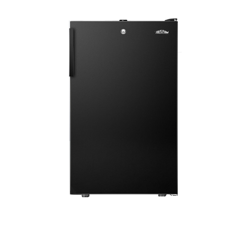 Summit Black 2.8 Cu. Ft. Upright Freezer w/ Lock