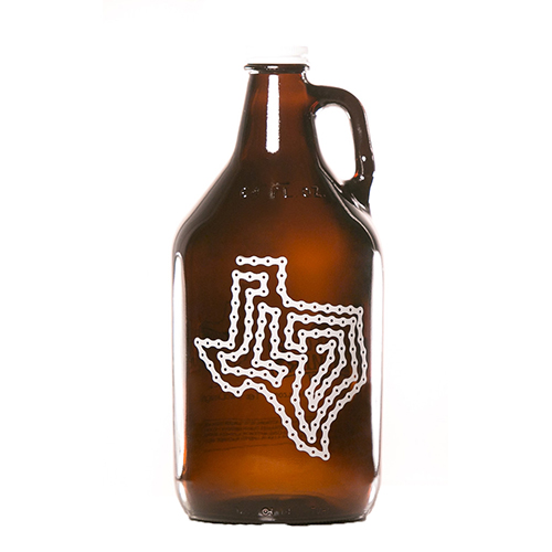 Texas Bike Chain Growler 64 oz