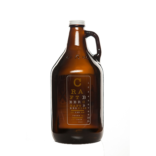 Eye Chart Growler 64 oz