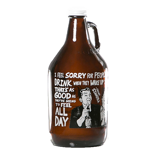 Ratpack Quote Growler 64 oz