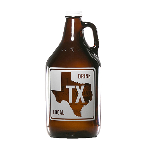 Texas Road Sign 64 oz