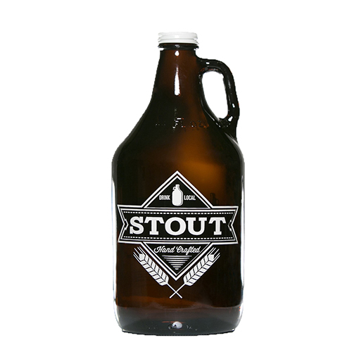 Stout Beer Style Growler 64 oz