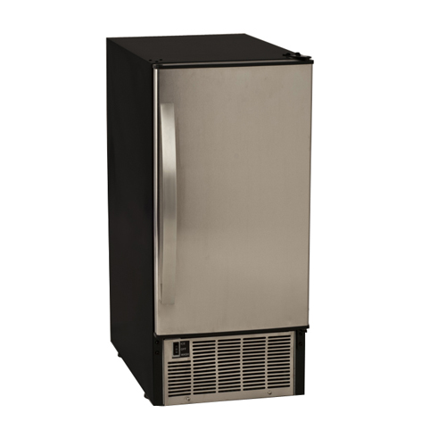 EdgeStar 45 Lb. Undercounter Clear Ice Maker - Stainless Steel
