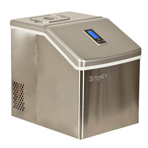 EdgeStar Portable Stainless Steel Clear Ice Maker