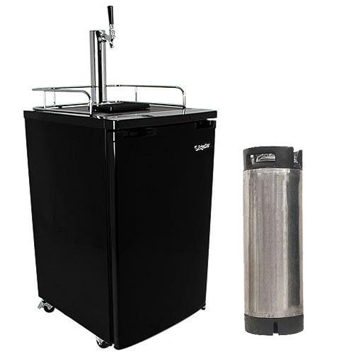 Edgestar Ultra Low Temp Home Brew Kegerator with Keg