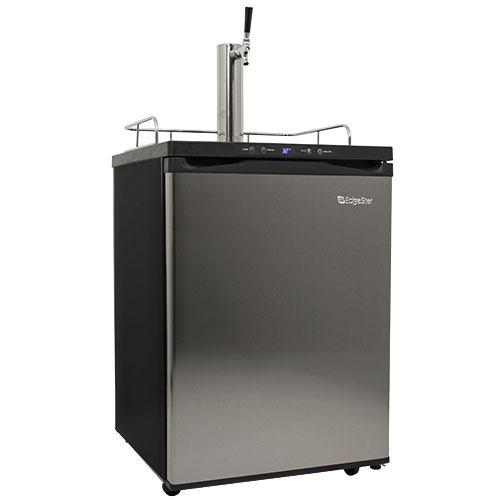 EdgeStar Full Size Stainless Steel Kegerator with Digital Display
