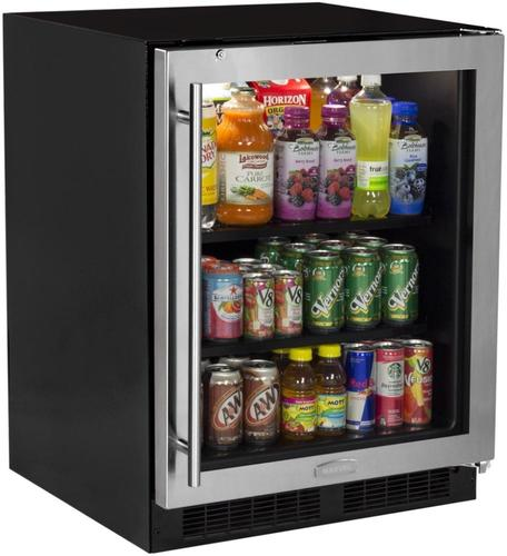 24  ADA Beverage Center Stainless Door with Lock - Right Hinge