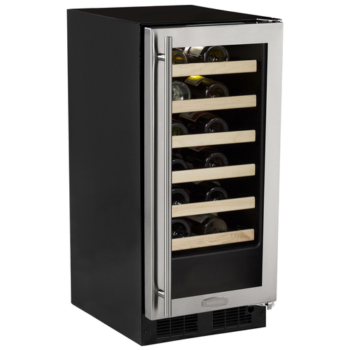Marvel 15  Built-In Single Zone Wine Cellar-Left Hinge