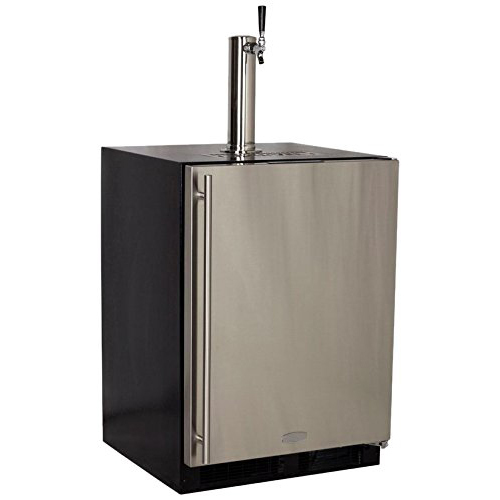 Built-In Full Size Kegerator Stainless Steel  Door - Right Hinge