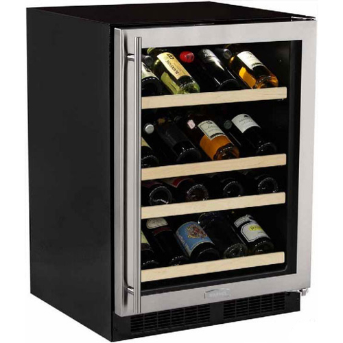 Marvel 24  Built-In Gallery Single Zone Wine Cellar-Left Hinge