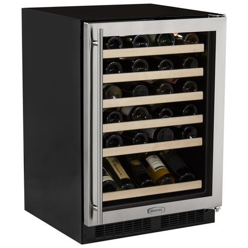 Marvel 24  Built-In High-Efficiency Single Zone Wine Cellar-Left Hinge