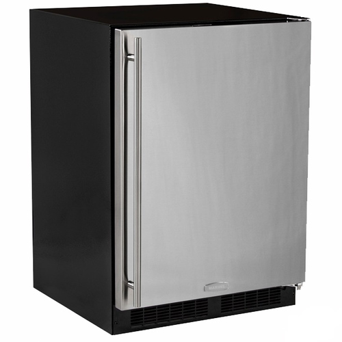 Marvel 24  Outdoor Refrigerator with Crisper Drawer, Lock-Left Hinge