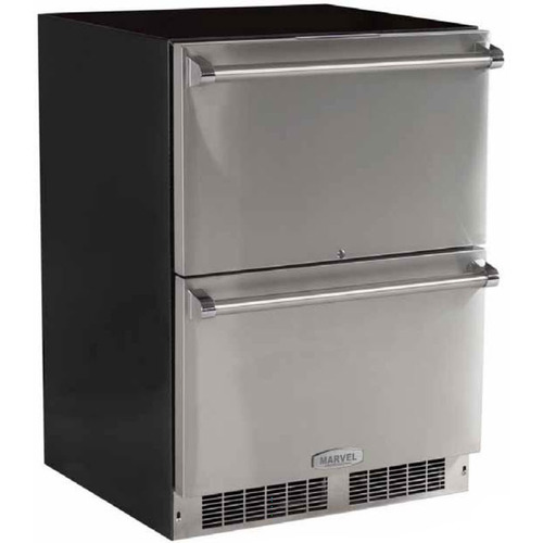 Marvel 24  Outdoor Built-In Refrigerated Drawers with Lock