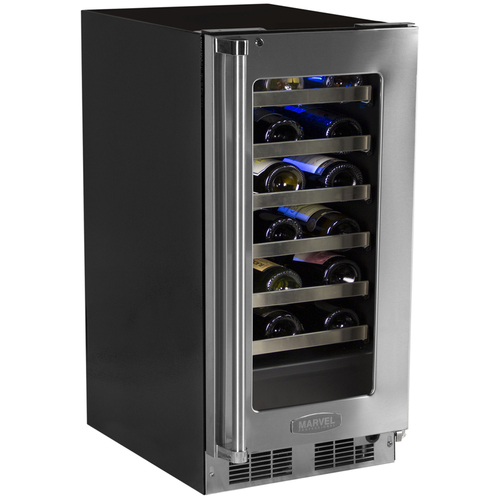 Marvel 15  Built-In Pro Single Zone Wine Cellar with Lock-Left Hinge
