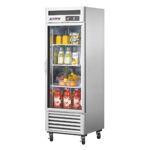 23 Cu. Ft. Super Deluxe Glass Door Reach-In Refrigerator