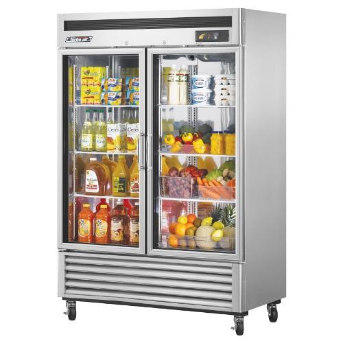 49 Cu. Ft. Super Deluxe Glass Door Reach-In Refrigerator