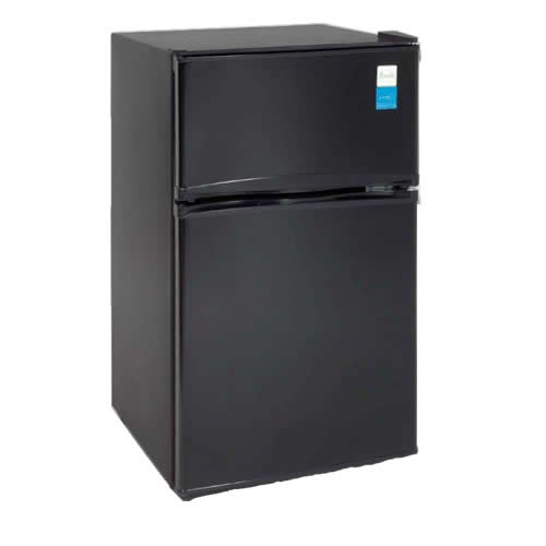 Avanti Energy Star 3.1 Cu. Ft. Two Door Compact Refrigerator/Freezer