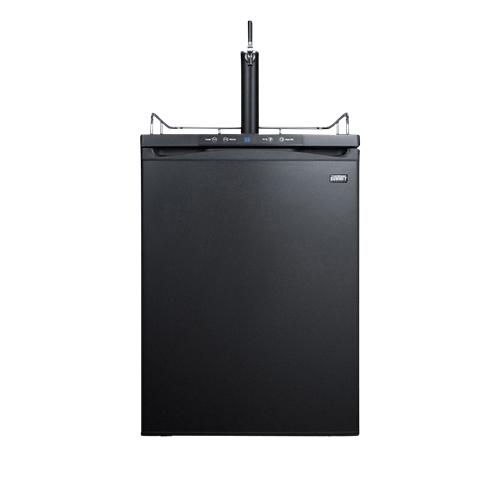 Commercial Built-In Full Size Beer Kegerator - Black Door
