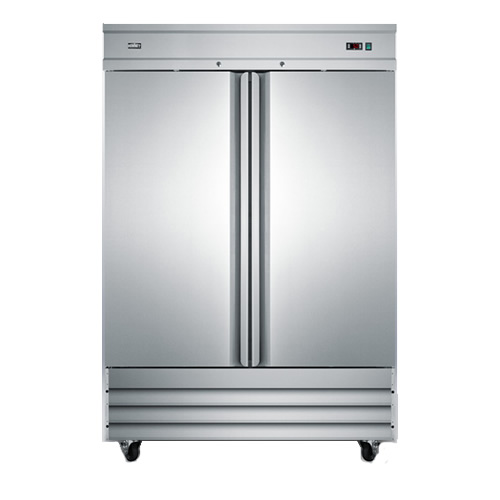 Summit Commercial 46 Cu. Ft. Two-Door Reach-In Freezer